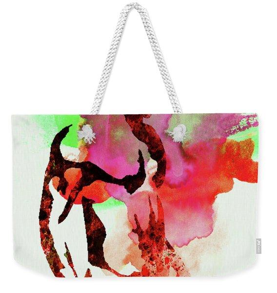 Legendary Fight Club Watercolor Weekender Tote Bag