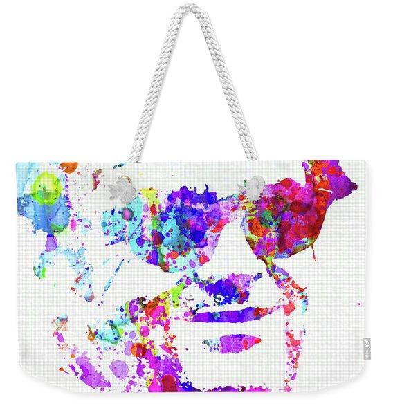 Legendary Jack Watercolor Weekender Tote Bag