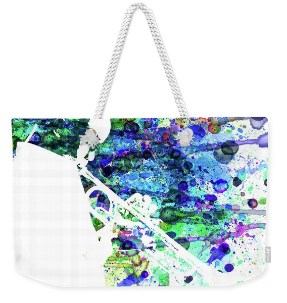 Legendary Jazz Watercolor  Weekender Tote Bag