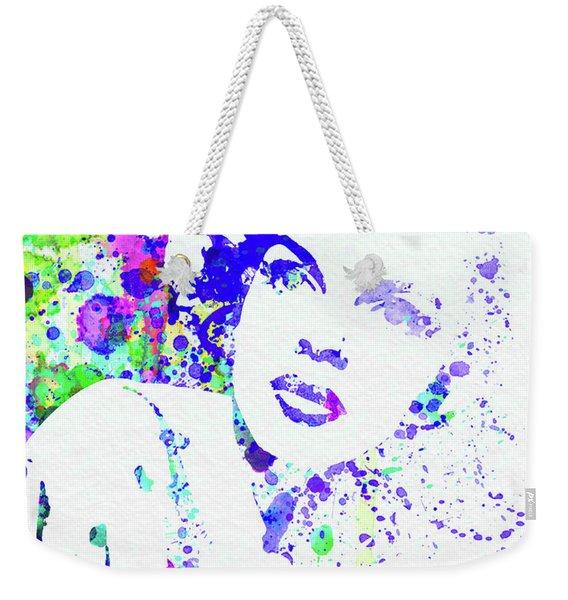 Legendary Judy Garland Watercolor I Weekender Tote Bag