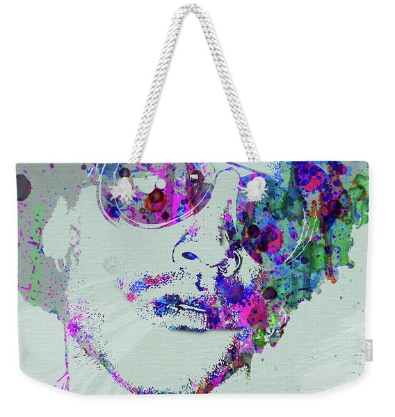 Legendary Lenny Watercolor I Weekender Tote Bag
