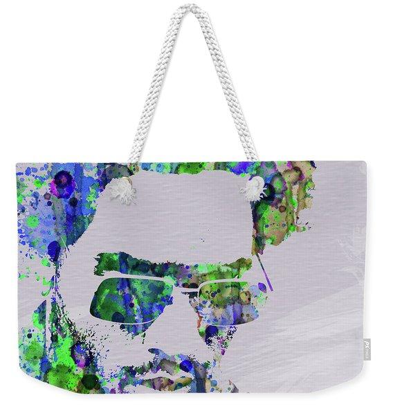 Legendary Lenny Watercolor II Weekender Tote Bag