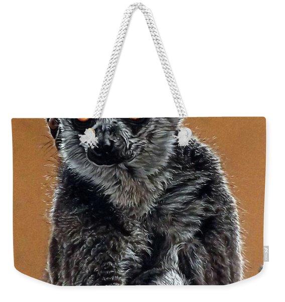 Lemurs Weekender Tote Bag