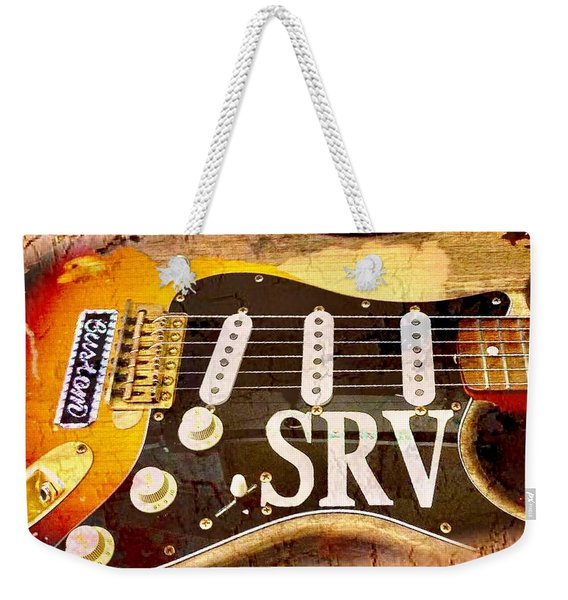 Lenny Stevie Ray Vaughans Guitar Weekender Tote Bag