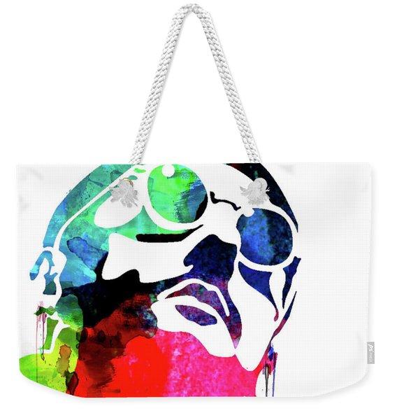 Leon Watercolor II Weekender Tote Bag