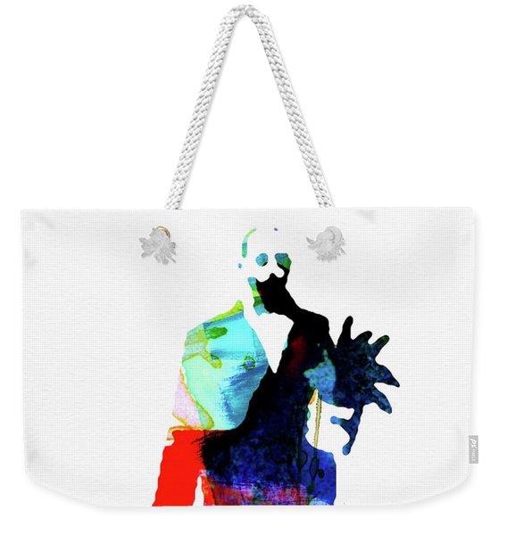 Leon Watercolor Weekender Tote Bag