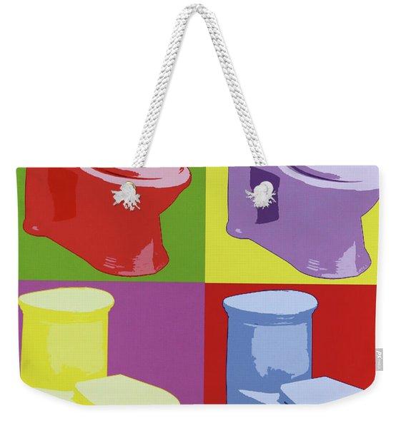 Les Toilettes  Weekender Tote Bag