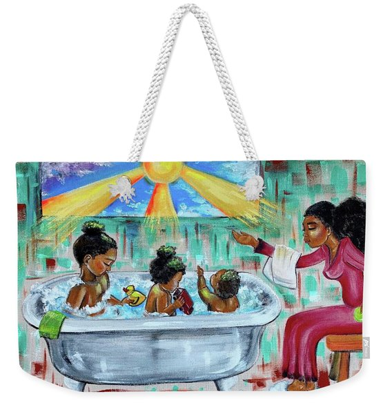 Lessons From Mommy Weekender Tote Bag