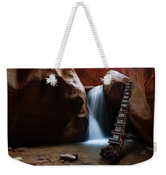 Let It Flow Weekender Tote Bag