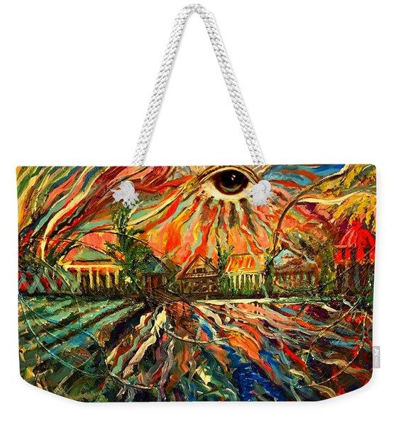 Let Love Shine Weekender Tote Bag