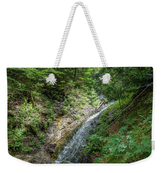Let The River Run Weekender Tote Bag