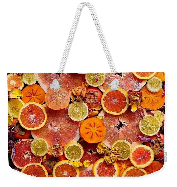 Let The Winter Sun Shine In Weekender Tote Bag
