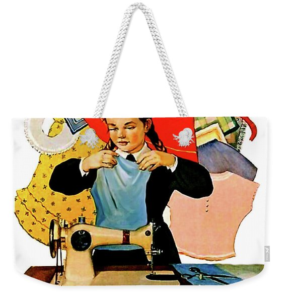 Lets Learn Weekender Tote Bag