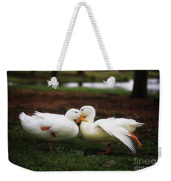 Let's Tango Weekender Tote Bag