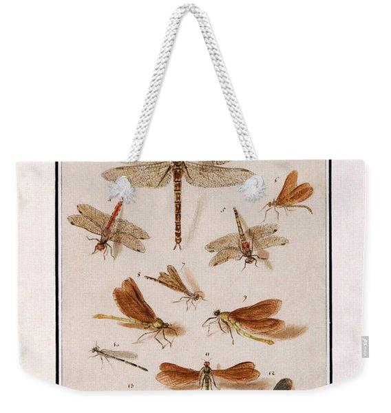 Libellen Weekender Tote Bag