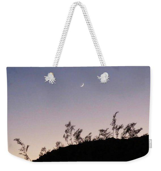 Libra Twilight Crescent Weekender Tote Bag