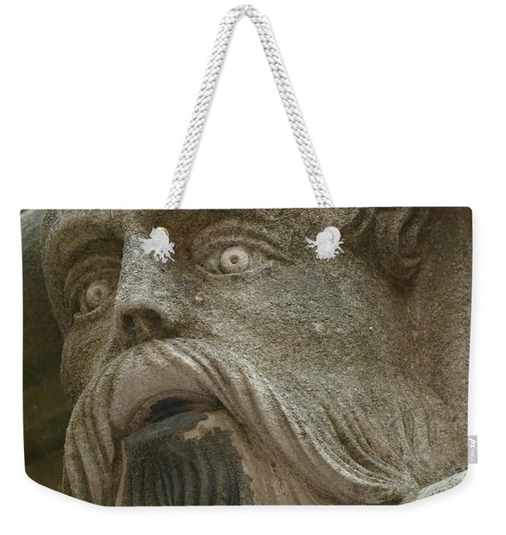 Life Sized Sculptures Of Human Heads Weekender Tote Bag