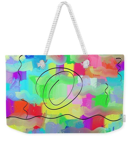 Sky And Sea Weekender Tote Bag