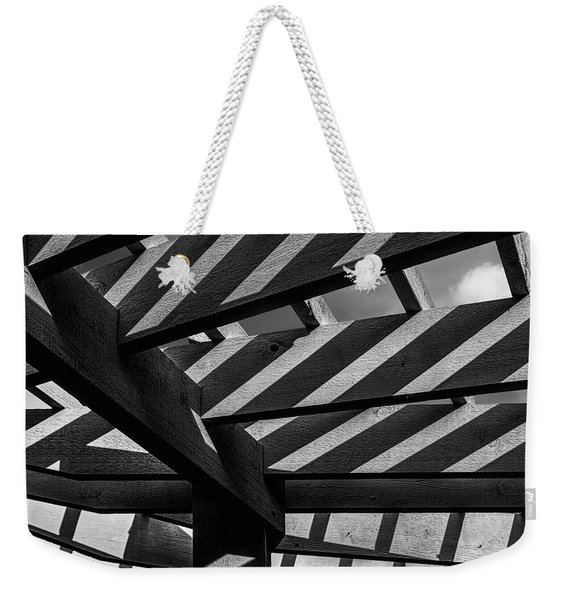 Light And Shadow Abstract Weekender Tote Bag
