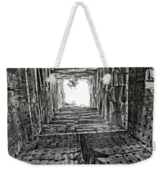 Light At The End Weekender Tote Bag