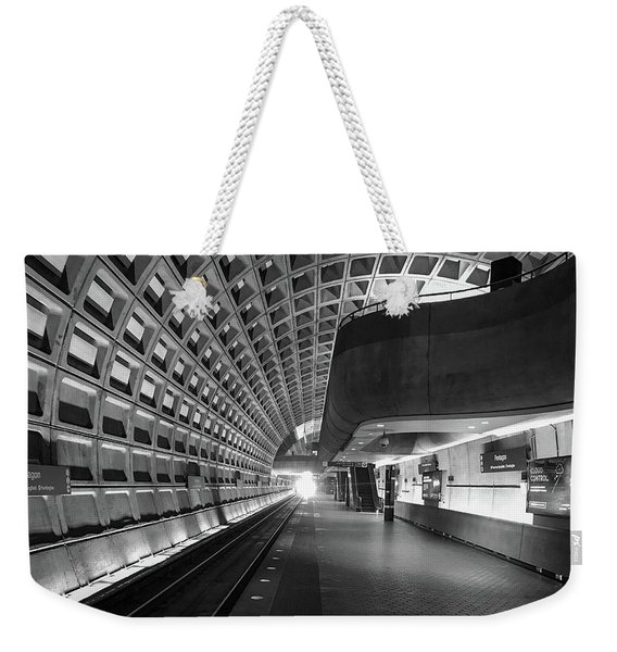 Light At The End Of The Tunnel Weekender Tote Bag