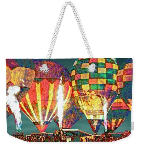 Light 'em Up Weekender Tote Bag