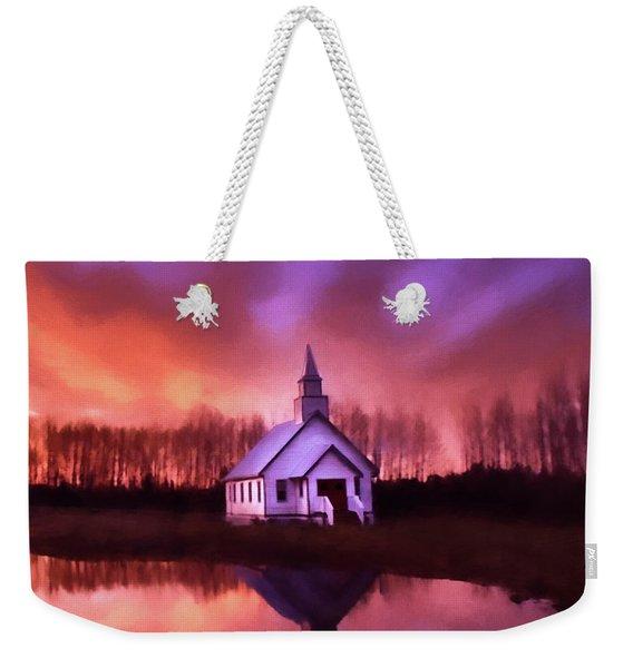 Light In The Dark - Hope Valley Art Weekender Tote Bag