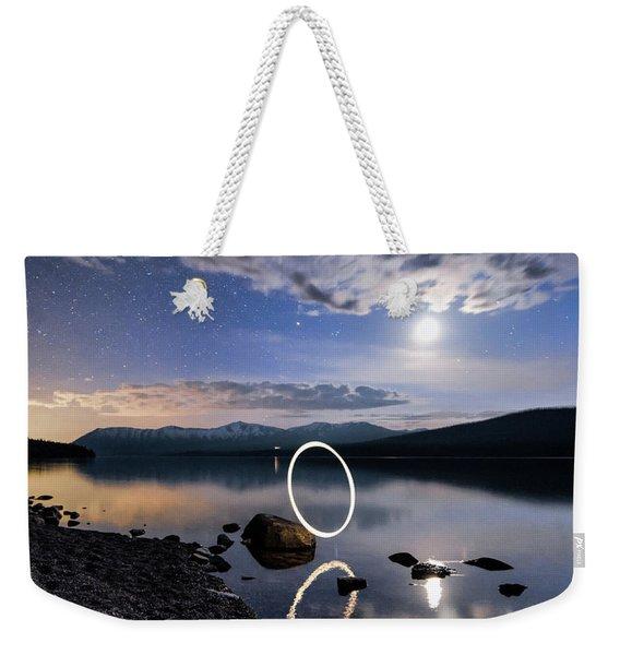 Light Painting Weekender Tote Bag