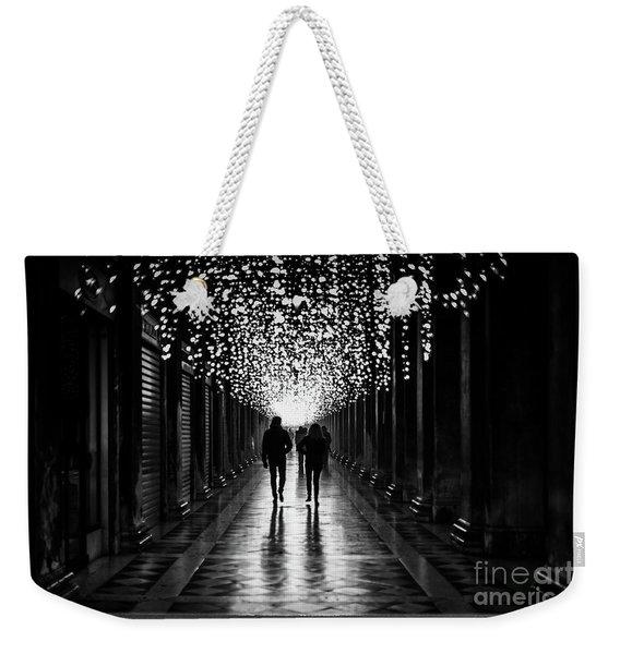 Light, Shadows And Symmetry Weekender Tote Bag