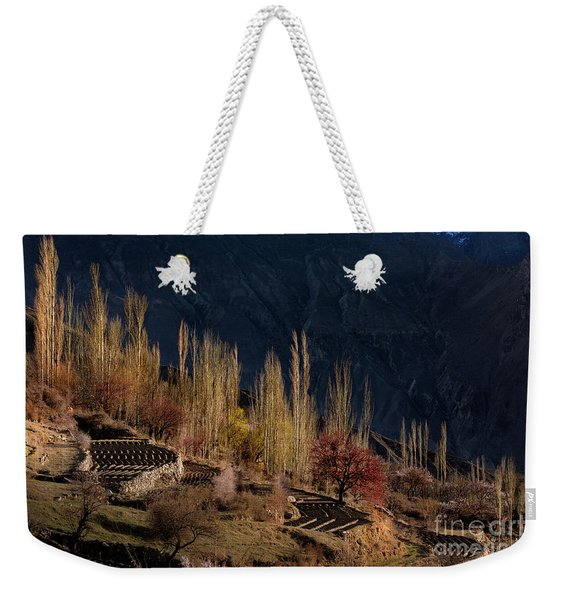 Light Slide Weekender Tote Bag