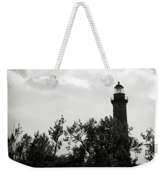 Weekender Tote Bag featuring the photograph Lighthouse by Michelle Wermuth