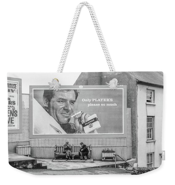 Lighting Up For A Quick Smoke Weekender Tote Bag
