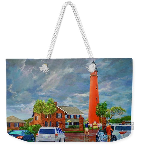Lightning And The Light Weekender Tote Bag