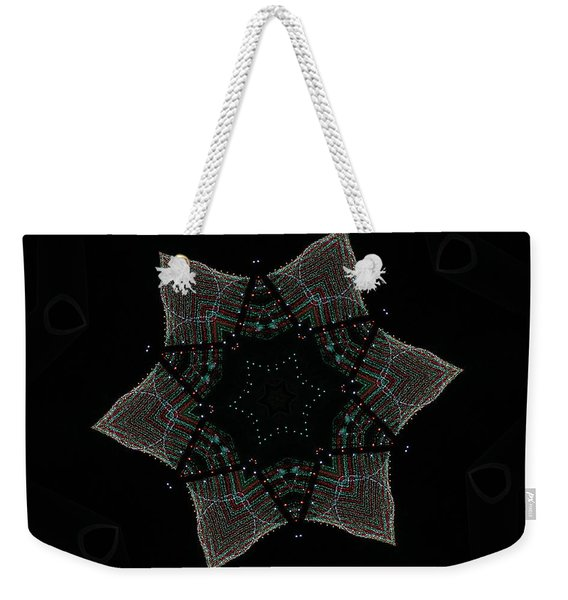 Lights Within A Star Weekender Tote Bag