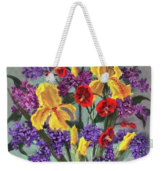 Lilac Days Weekender Tote Bag