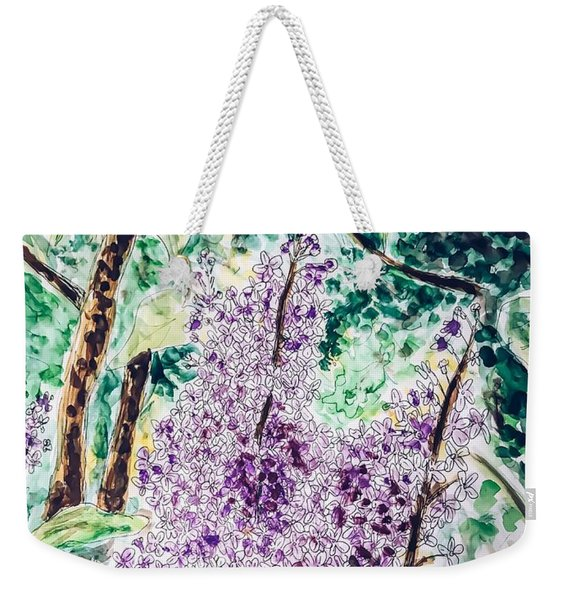 Lilac Dreams Weekender Tote Bag