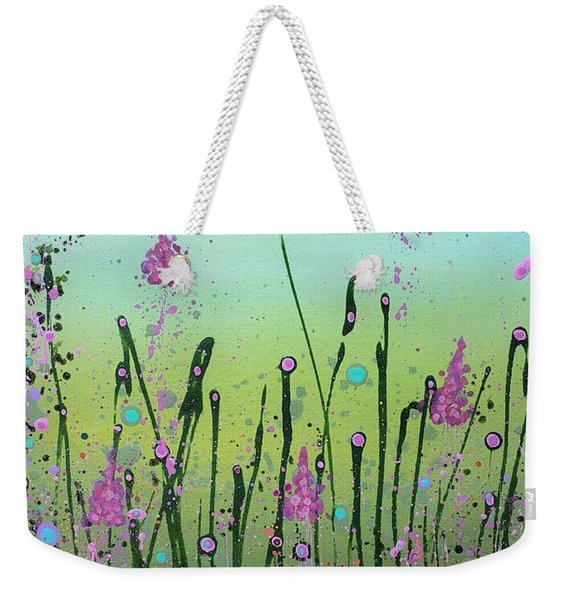 Lilacs And Bluebells Weekender Tote Bag