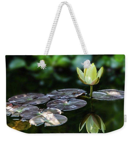 Lily In The Pond Weekender Tote Bag