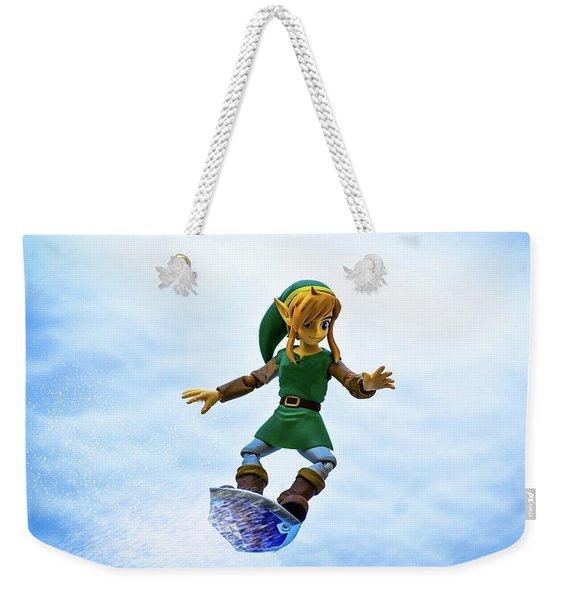 Link To The Slopes Weekender Tote Bag