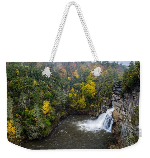 Linville Falls - Linville Gorge Weekender Tote Bag