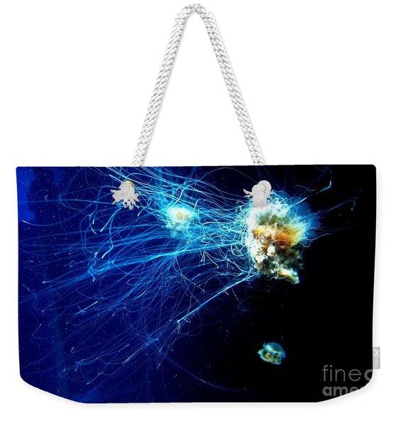 Lion-head Jellyfish  Weekender Tote Bag