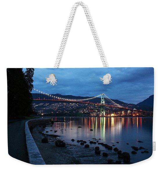 Lions Gate Golden Hour Weekender Tote Bag