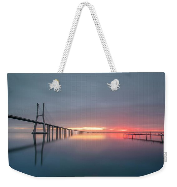 Lisbon.. Finally Weekender Tote Bag