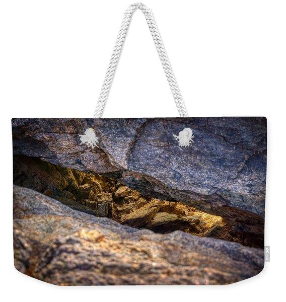 Lit Rock Weekender Tote Bag