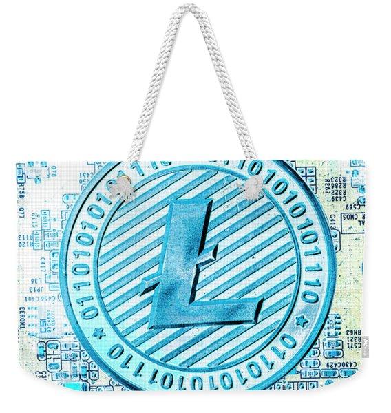 Litecoin Design Weekender Tote Bag