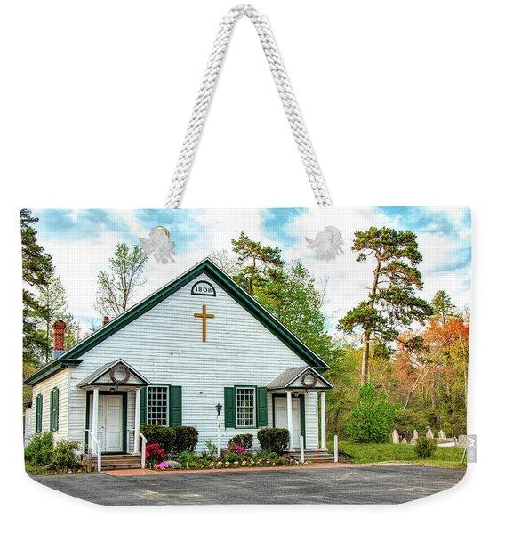 Little Church In The Pines Weekender Tote Bag