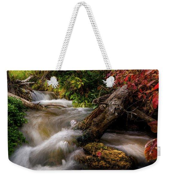 Little Deer Creek Autumn Weekender Tote Bag