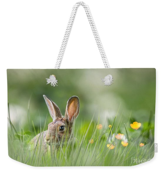 Little Hare Weekender Tote Bag