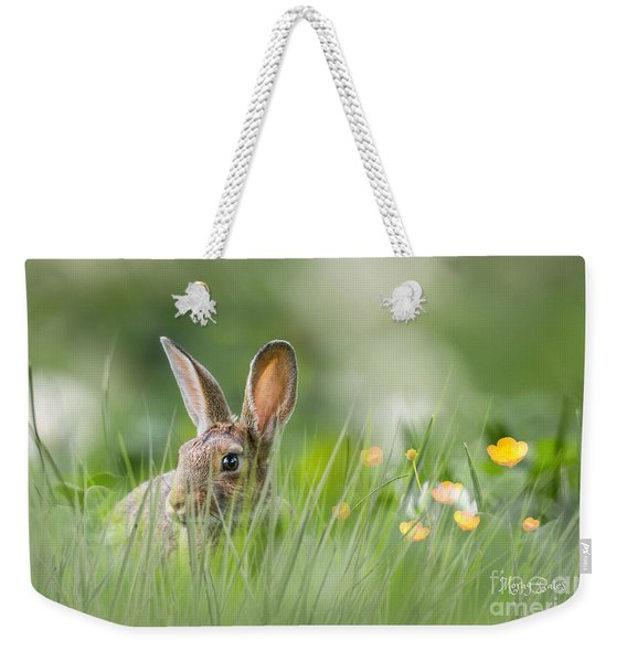 Little Hare Weekender Tote Bag