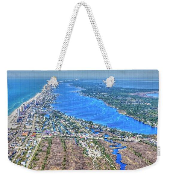 Little Lagoon 7489 Weekender Tote Bag